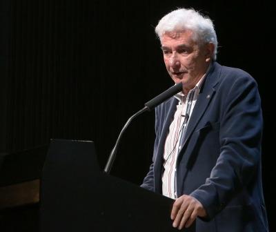 Miguel Ángel Puig-Samper. En conferencia sobre La exploración científica de América - La búsqueda de los confines
