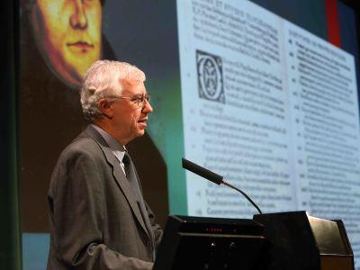 José Manuel Sánchez Ron. En conferencia sobre Galileo, observador e intérprete de los cielos - Galileo Galilei: su vida, su obra, su tiempo