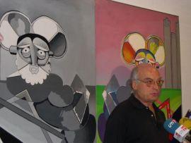 Luis Gordillo. Exposición Gordillo Dúplex, 2004