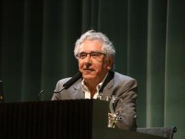 Julio Trebolle. En conferencia sobre Hallazgos e incógnitas en la investigación de los manuscritos - Manuscritos del Mar Muerto , 2015