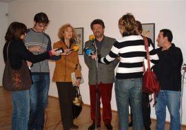 Helmut Friedel. Exposición Kandinsky, acuarelas Städtische Galerie im Lenbachhaus, Munich, 2004