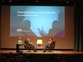 Peridis y Antonio San José en Memorias de la Fundación, 2013