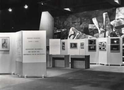 Vista parcial de la exposición Eduardo Marquina