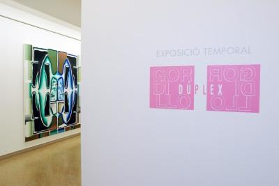 Vista parcial de la exposición Gordillo Dúplex