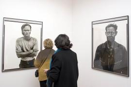 Vista parcial de la exposición Rostros y máscaras Fotografías de la Colección Ordóñez-Falcón, 2005
