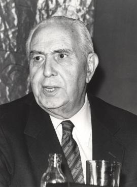 Pedro Laín Entralgo. Conferencia sobre Libertad y verdad en Gregorio Marañón - Liberales españoles contemporáneos , 1980