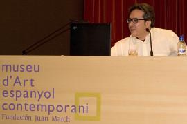 Alberto Ruiz de Samaniego en el curso sobre Autorretrato, 2005