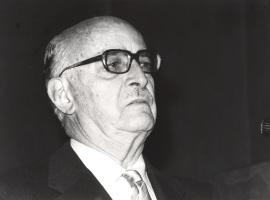 Pedro Grases. Conferencia sobre Bello y su tiempo - Andrés Bello en su II centenario , 1980