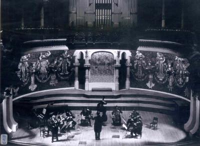 Ciclo de Música Barroca Italiana en género instrumental. Grupo I Solisti Veneti bajo la dirección de Claudio Scimone