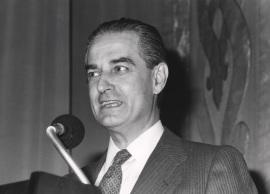Landelino Lavilla. Conferencia sobre La transición política - La Constitución española , 1988