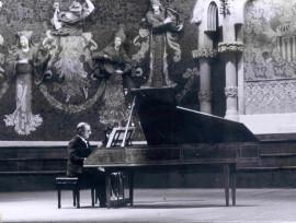 Ciclo de Música Barroca Italiana en género instrumental. Rafael Puyana, piano, 1973