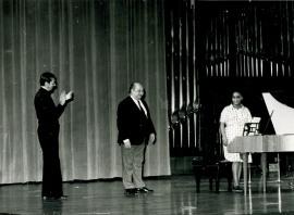 José María Franco Gil y Carmelo Bernaola. [Concierto especial 1] Homenaje a Antonio Machado , 1975
