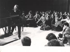 Perfecto García Chornet. Concierto Schubert , 1978