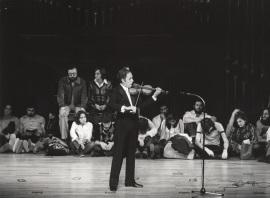 Gonçal Comellas. Concierto J. S. Bach: sonatas y partitas para violín solo , 1978