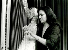 María Rosa Calvo Manzano. Recital de arpa , 1978