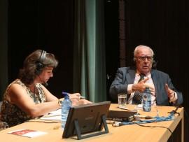 Laura Prieto y Román Gubern. Entrevista de RNE, 2013