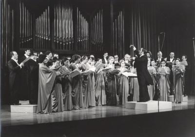 Coro de Cámara de RTVE y Pascual Ortega. Concierto I Ciclo de música española del siglo XX