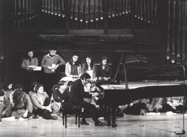 Mario Monreal. Concierto Cuatro pianistas españoles, 1979