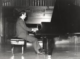 Julián López Gimeno. Recital de piano , 1979