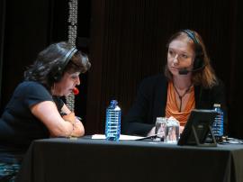 Laura Prieto y Rosa Sala Rose. Entrevista de RNE , 2014