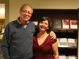 Laura Prieto y Félix de Azúa. Entrevista de RNE , 2015