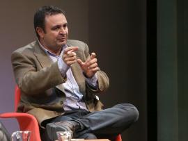 Ignacio Sánchez-Cuenca. En conferencia sobre Independentismos, 2015