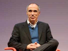 Juan Díez Medrano. En conferencia sobre Globalización, 2015