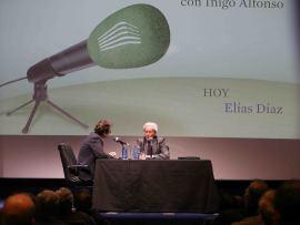 Íñigo Alfonso y Elías Díaz García en Memorias de la Fundación, 2014