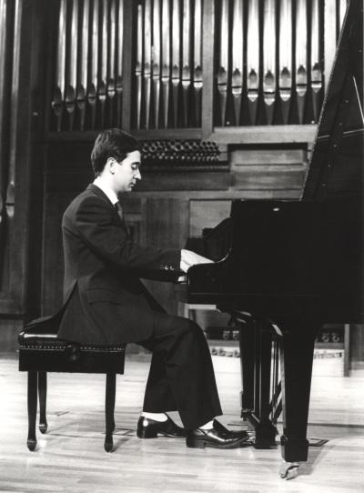 Anselmo de la Campa. Recital de piano