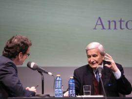 Íñigo Alfonso y Antonio Bonet Correa en Memorias de la Fundación, 2014