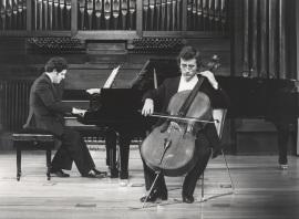 Rafael Quero y Álvaro P. Campos. Recital de violonchelo y piano , 1981