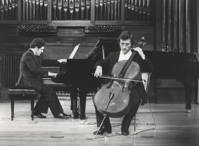 Rafael Quero y Álvaro P. Campos. Recital de violonchelo y piano