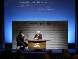 Íñigo Alfonso y Antón García Abril en Memorias de la Fundación, 2015