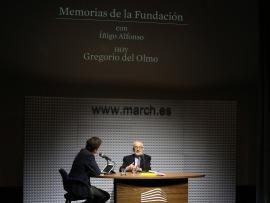 Íñigo Alfonso y Gregorio del Olmo en Memorias de la Fundación, 2015