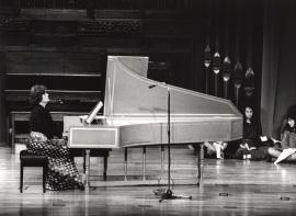 Genoveva Gálvez. Concierto Música española del renacimiento , 1981