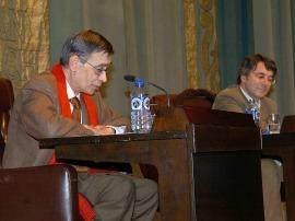 Carlos Pujol y Andrés Trapiello. , 2007