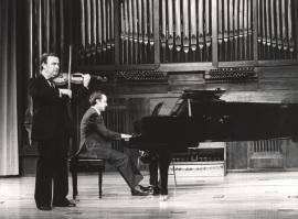 Pedro León y Julián López Gimeno. Recitales para Jóvenes, 1982