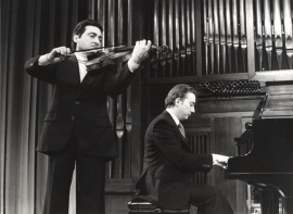 Wladimiro Martín y Juan Antonio Álvarez Parejo. Recitales para Jóvenes, 1982