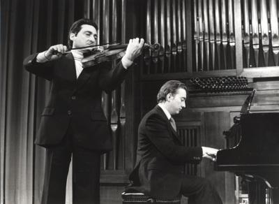 Wladimiro Martín y Juan Antonio Álvarez Parejo. Recitales para Jóvenes