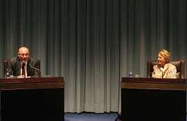 Soledad Puértolas y Daniel Fernández, 2011