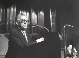 Goffredo Petrassi. Concierto Homenaje al compositor italiano Goffredo Petrassi , 1982
