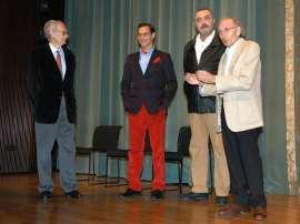 Andrés Amorós Guardiola, Manuel Bandera, Juan Alberto López y José Luis Alonso de Santos, 2009