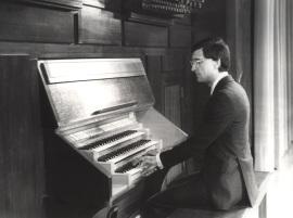 José María Mas. Concierto Homenaje a M. Santiago Kastner - Musicología hispánica tres maestros , 1983