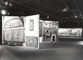 Vista parcial de la exposición Azulejos de Portugal (Actos de Portugal), 1980