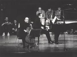 Pedro Corostola y Manuel Carra. Concierto Brahms: integral de la obra de cámara con piano , 1983
