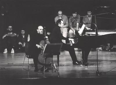 Pedro Corostola y Manuel Carra. Concierto Brahms: integral de la obra de cámara con piano