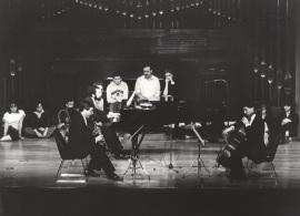 Adolfo Garcés-Sauri, Josep Colom y Rafael Ramos. Concierto Brahms: integral de la obra de cámara con piano , 1983