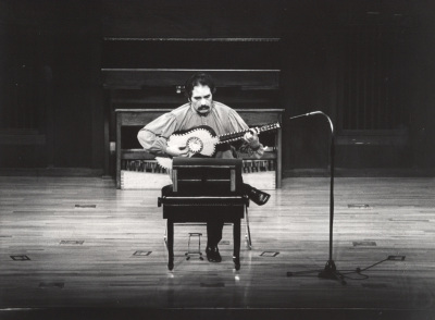 Jorge Fresno. Concierto Música barroca española