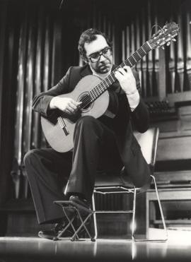 José Luis Rodrigo. Recital de guitarra, 1982