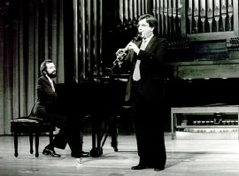 Josep Colom y Adolfo Garcés. Recitales para Jóvenes, 1983